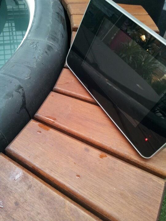 Portable buitenTV AquaSound
