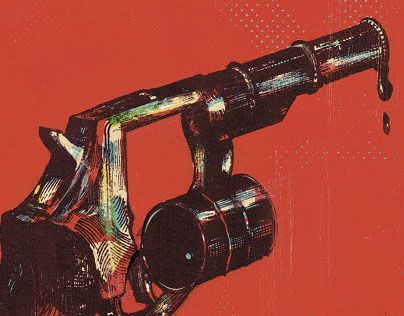 "Check out new work on my @Behance portfolio: ""Oil Revolver"" http://on.be.net/1UfFbzl"