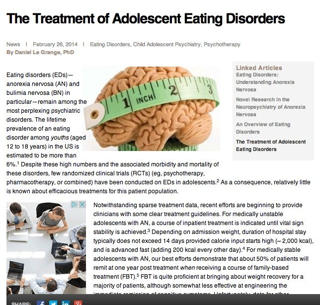 Research essay eating disorders
