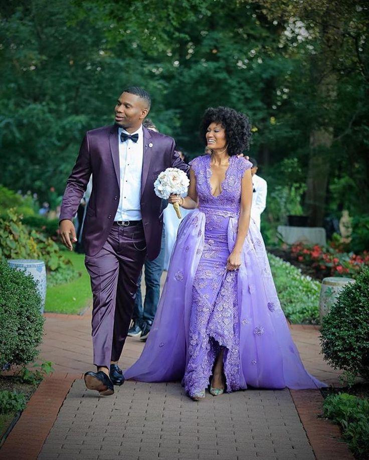 African American Wedding Ideas: Non Traditional Wedding! Pretty Dress. #Munaluchi
