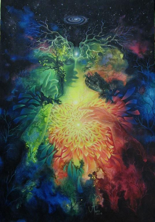 Alchemy of Transformation - Dissolve & becoming Sept (larger image) by JanBetts