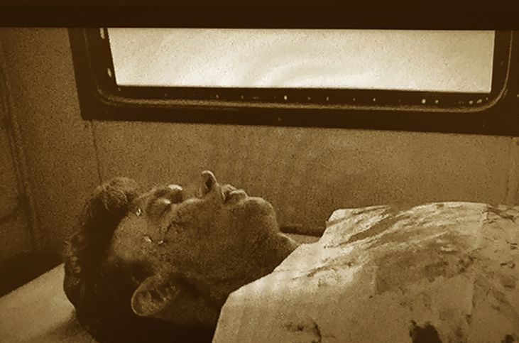 Rare Image Of Dean At Kuehl S Mortuary 1955 Roth Image From A Japanese Collection James Dean James Dean Death James Dean Photos
