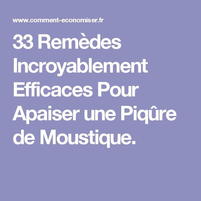33 Remèdes Incroyablement Efficaces Pour Apaiser une Piqûre de Moustique.
