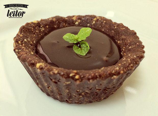 Tortinha de chocolate funcional