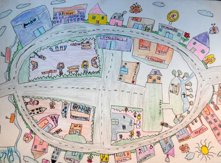 Draw your own play village