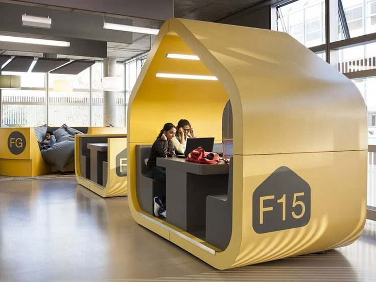 """""""Coventry University's new 91,000-sq-ft student center seems much more conducive to a good ol' fashioned study sesh than the latter. Dubbed 'The Hub' it provides a bright, spankin' new informal learning center that is clean and safe, capable of accommodating 1000 geeks at a time."""""""