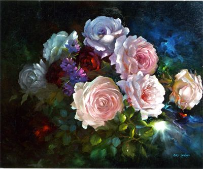 Rose Rhapsody by Gary Jenkins (Sold)