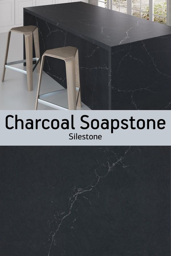 Silestone Charcoal Soapstone Is A Dark