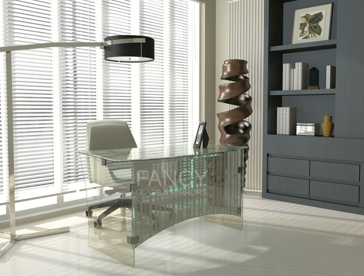 Astra Glass Work Desk will be piece of furniture that will make everybody jealous of it. The front side glass panel and the glass table top are made with laminated natural design. Add an element of eccentricity with this desk table that dramatically ups the interest in a modern office. We can make it with the variety of patterns for your preferences.