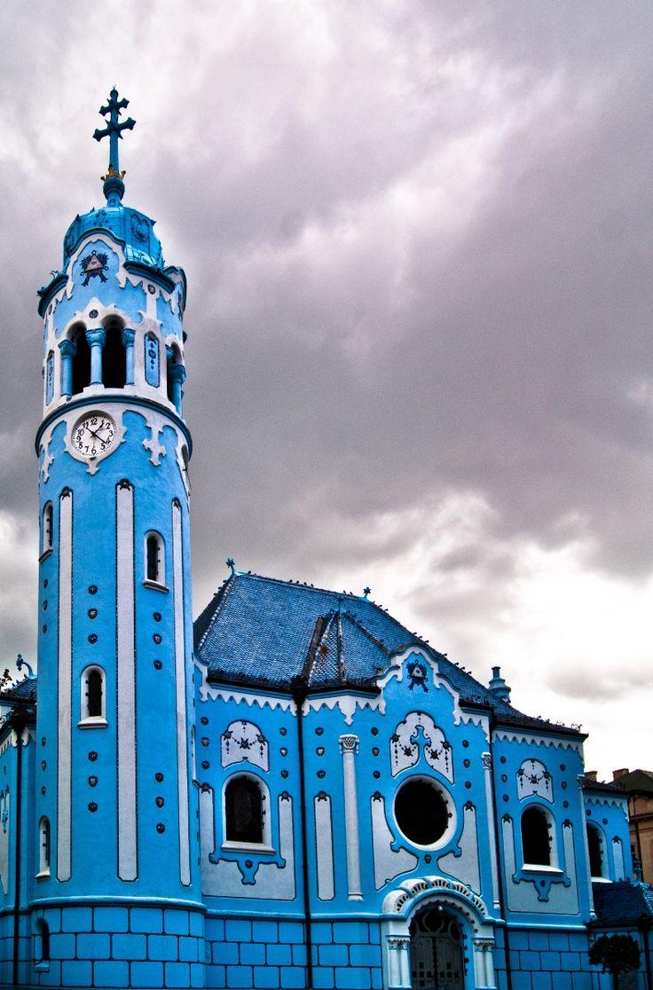 Modrý kostolík (Blue chapel), Bratislava, Slovakia