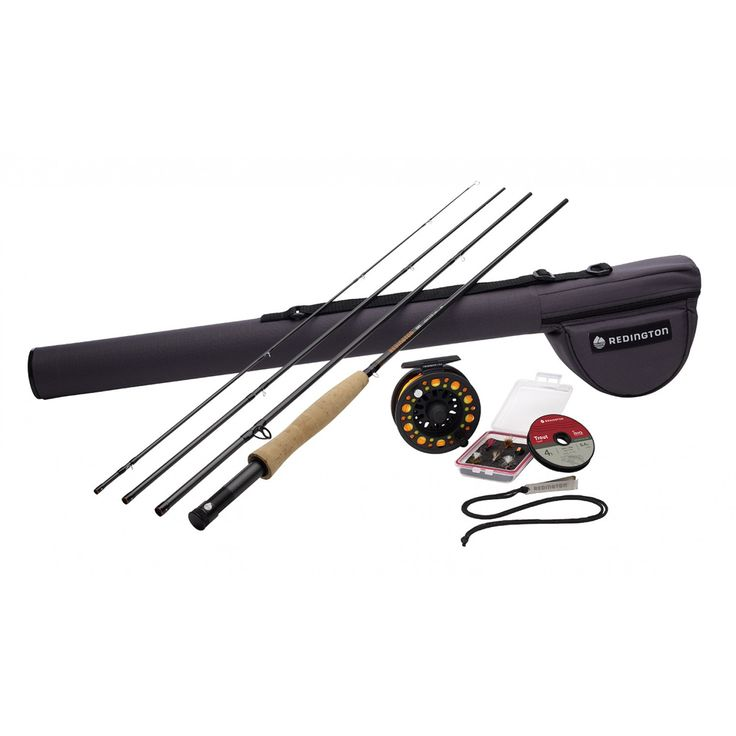 Fly fishing rod and reel combo