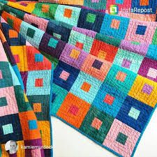 Image result for quilting with solids