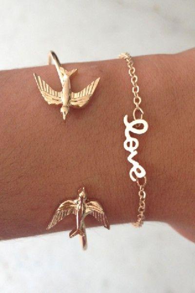 SABO SKIRT Love Bracelet - Gold - (No Colour Specified) - 12.0000