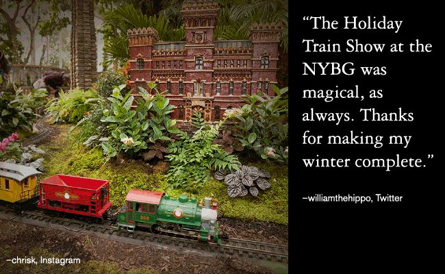 NYBG Holiday Train Show Ticket Discount Code & Giveaway