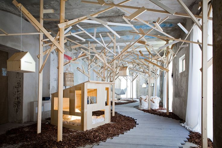 daunenstep by studiopepe // kid's spaces