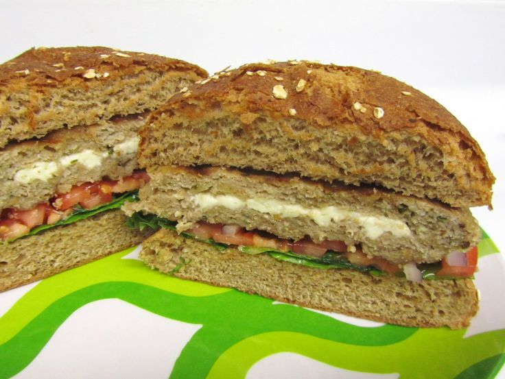 Feta Stuffed Pesto Turkey Burger! | Recipes to Try | Pinterest