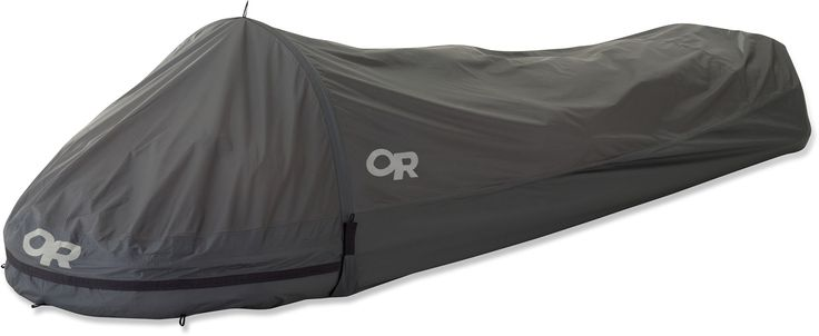 Leave the tent at home and backpack with 18oz of waterproof, windproof, breathable protection.