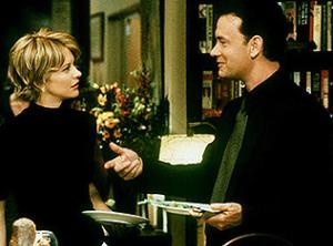 """SB: """"I consider Meg Ryan as one of the Queens of Rom-Coms. A lot of her movie has this genre and seems to have this wonderful feeling no matter who her leading man is! Amazing!!! """"  Orig Tags: """"You've Got Mail (1998) love this movie.."""""""