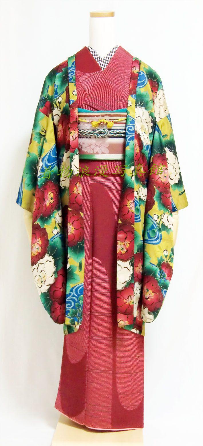 アンティーク着物コーデ ご紹介いたします♪ の画像|着物浪漫写真館