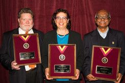 The California Social Welfare Archives' 31st annual awards reception honored three individuals for their impactful contributions to society: Pulitzer Prize-winning writer Sonia Nazario; E. Stephen Voss, a leader in the local immigrant services community; and Clinical Professor Murali Nair, a beloved social work scholar and mentor.