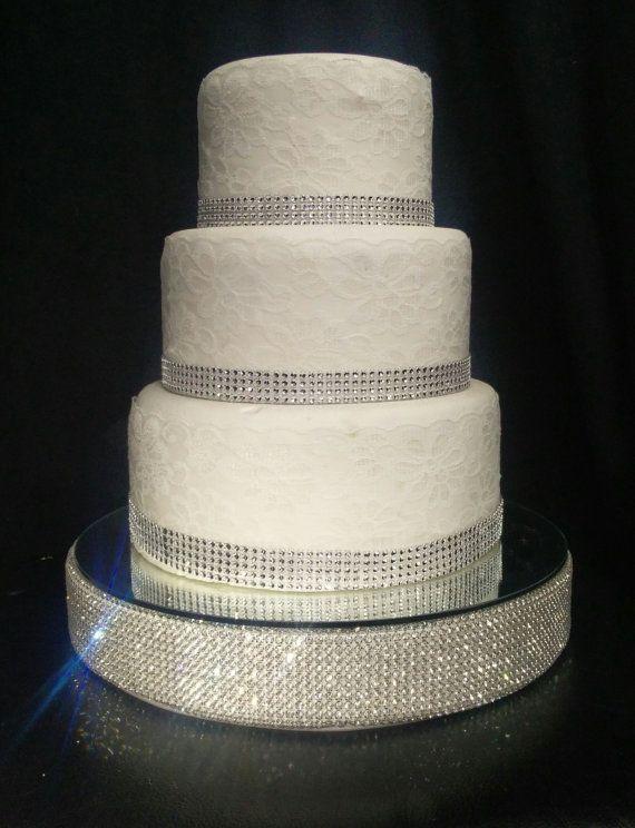 Pastel de boda de diamante de imitación por CrystalWeddingUK