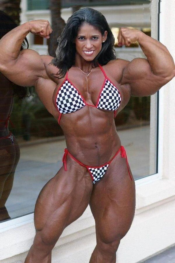 Arab female bodybuilder bikini pictures messy