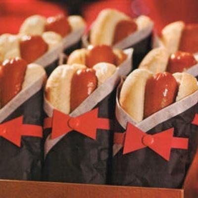 Tuxedo Hot Dogs