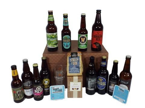 Beer Lovers Irish Craft Beer Hamper (Large)