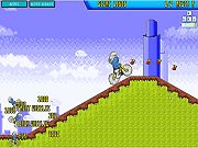Smurf BMX Flash Game. Try to do tricks and you must earn as many points as you can. Play Free Fun BMX Games Online.