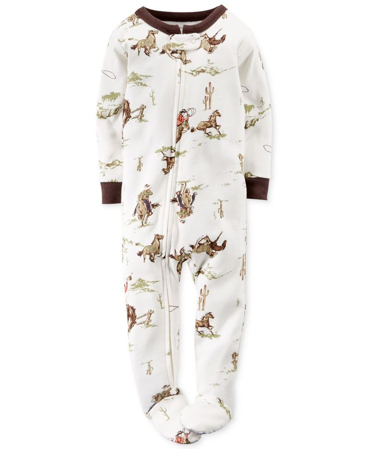 Carter's Baby Boys' Cowboy Footed Coverall - Kids Baby Boy (0-24 months) - Macy's