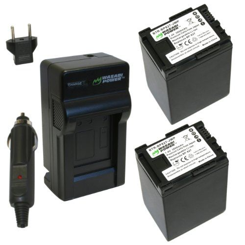 Wasabi Power Battery and Charger Kit for Canon BP-827, VIXIA HF S10, HF S100, HF S11, HF M30, HF M300, HF M31, HF M32, HF S20, HF S200, HF S21, HF20, HF200, HF21, HG20, HG21, HF G10, HF M40, HF M400, HF M41, HF S30, XA10 $47.99