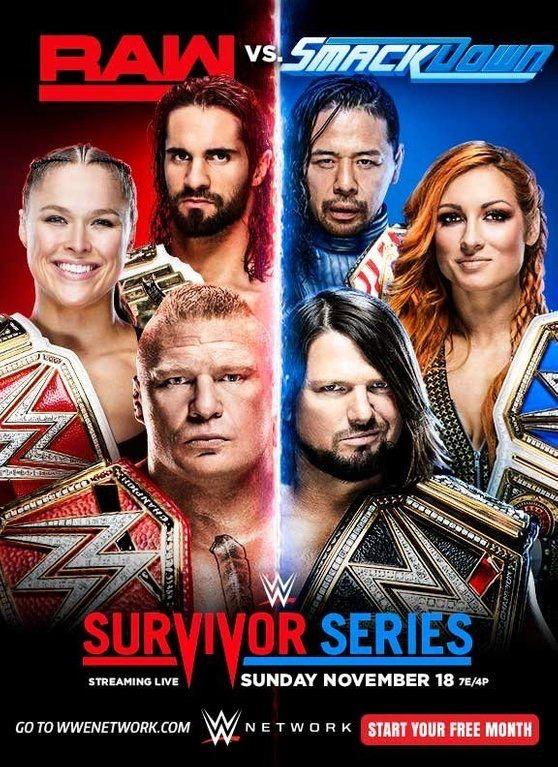 Survivor Series 2018 | WWE | Wwe survivor series, Survivor