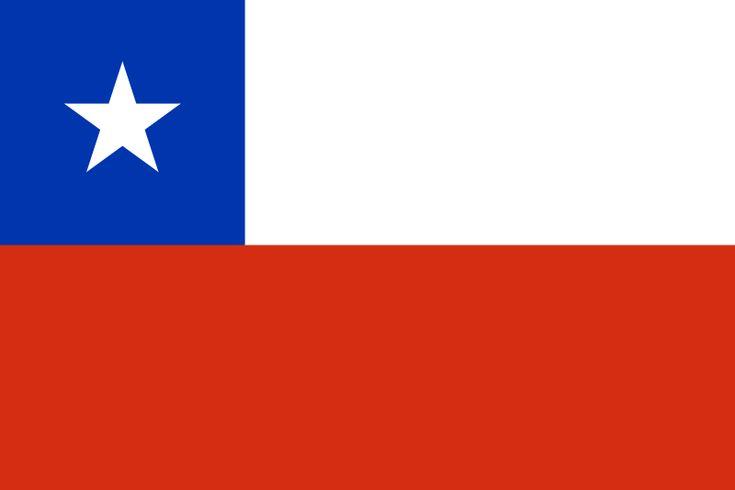 La bandera de Chile es de color azul y blanco y rojo con una estrella en el mismo. La gente en Chile hablan español . La principal religon de Chile es católica. Nombre oficial de Chile es República de Chile.