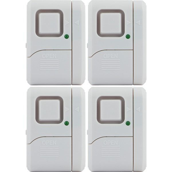 GE 45174 Magnetic Indoor Window Alarms (4 pk)
