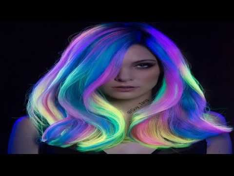 People Are Obsessing Over This New Glow In The Dark Hair Trend | people ...
