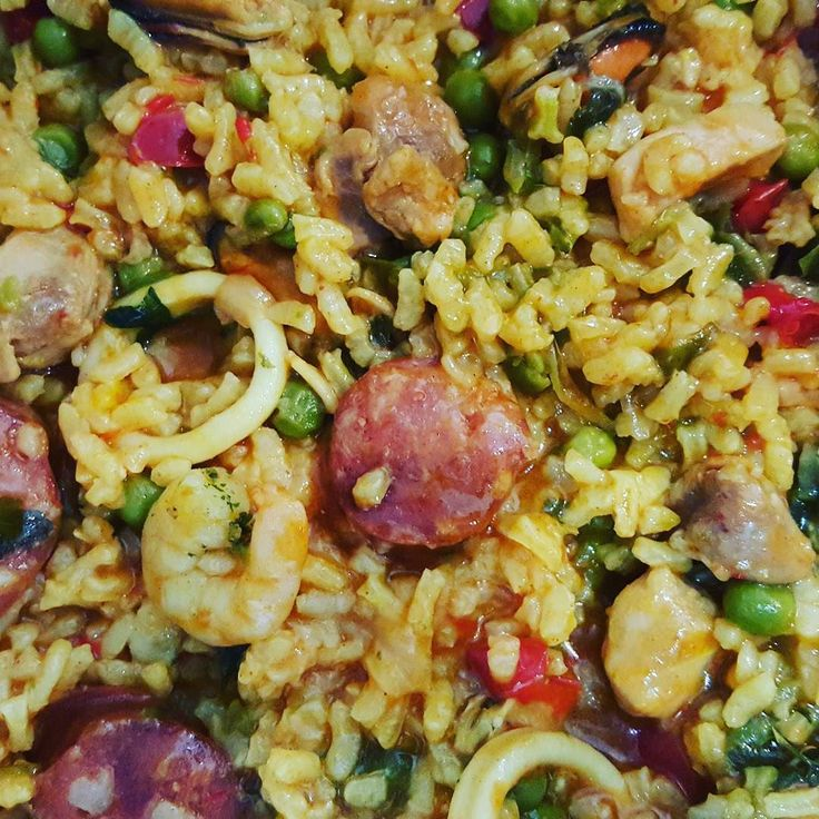 First go at homemade Paella