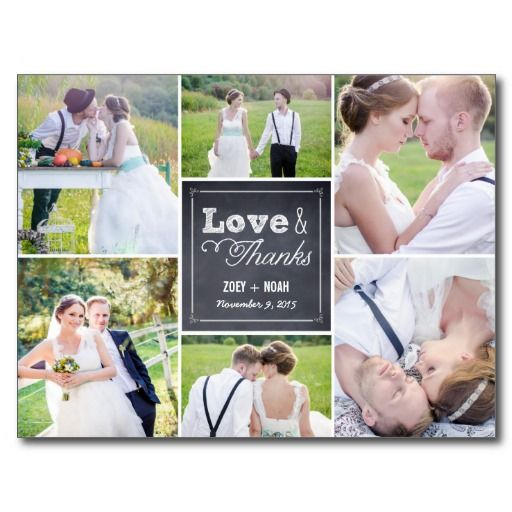 20 best Cheap Wedding Thank You Postcards images – Cheap Wedding Photo Thank You Cards