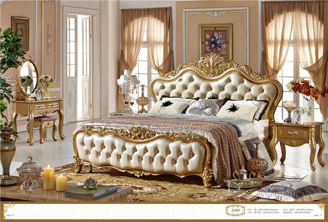 High Quality Bedroom Furniture Luxurary Bedroom Furniture Set