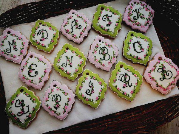 Lebkuchen Monogramm Lebkuchen Kekse Monogramm