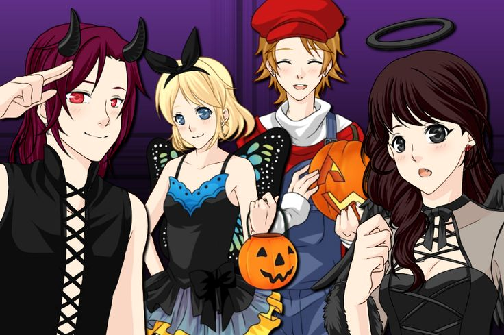 want halloween again!