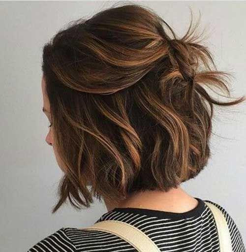 Brun chocolat Couleur des Cheveux