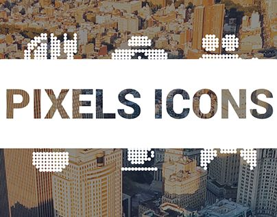 "Check out new work on my @Behance portfolio: ""ICONOGRAPHY #1 - Pixels icons"" http://be.net/gallery/46744779/ICONOGRAPHY-1-Pixels-icons"