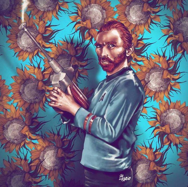 """""""Mr. Vincent van Gogh"""" ~ Fab Ciraolo"""