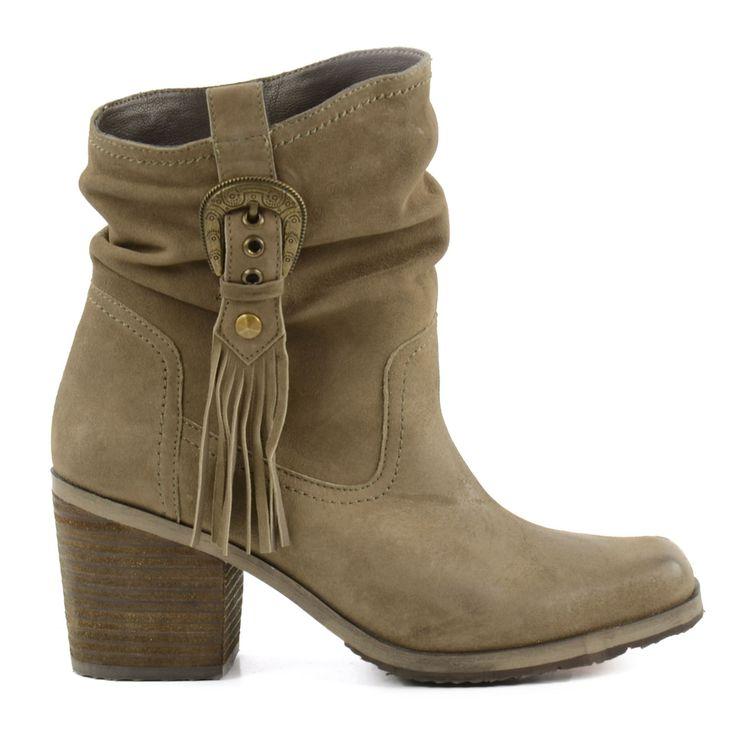 Korte laarzen met franjes