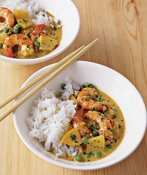 Making this tonight for the 4th time! (Shrimp Curry With Coconut Milk and Apple)