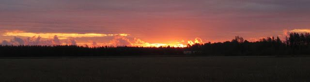 Early morning sunrise - fall