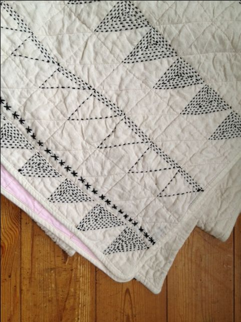 Jessica Coates - A kantha quilt I am working on...