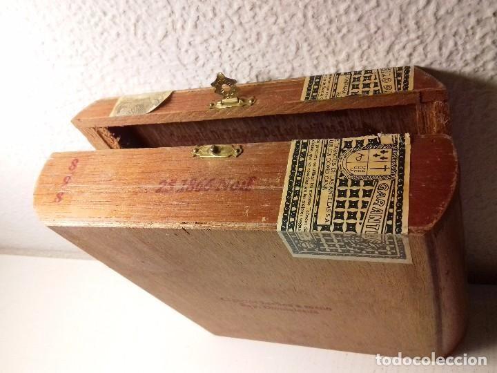Cajas y cajitas metálicas: CAJA DE PUROS COMPAÑÍA DE TABACOS DE LAS ANTILLAS SA. - Foto 2 - 77263701