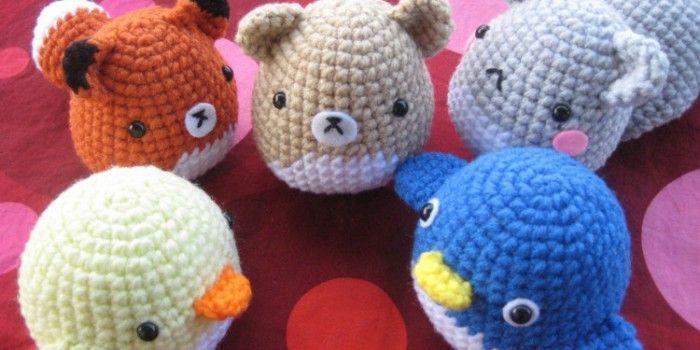 Amigurumi Critters | diLanaedaltrestorie