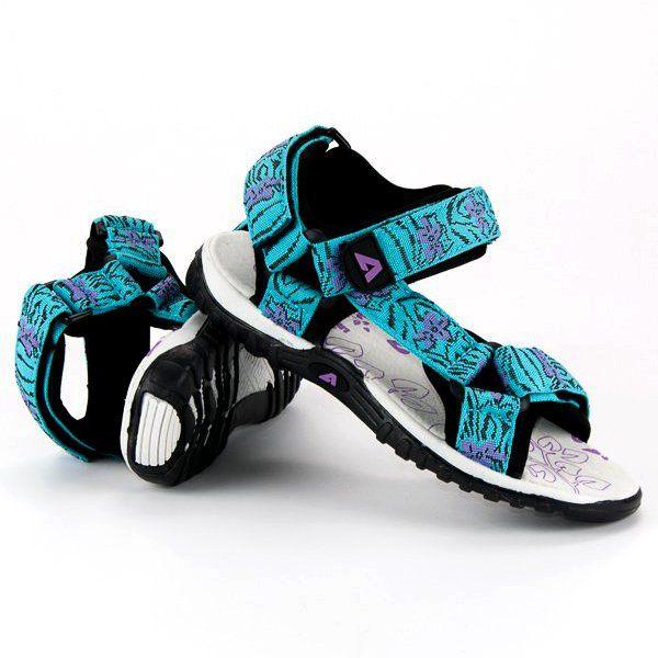 Sandalki Dzieciece Dla Dzieci Americanclub Niebieskie Mlodziezowe Sandaly Na Rzep American American Club Shoes Footwear Sandals